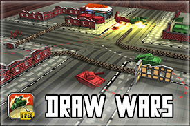 draw wars game promo
